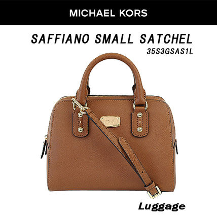 Michael Kors マイケルコース Saffiano Small Satchel 2way bag