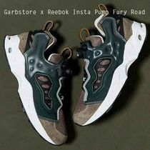 REEBOK X GARBSTORE INSTAPUMP FURY ROAD BROWN ピッグスキン