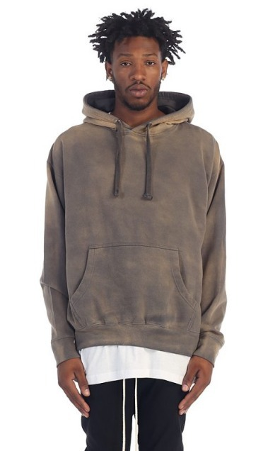 送料込み!EPTM(エピトミ)  GREY POWER WASHED HOODIE