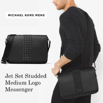 日本入手困難MK☆Jet Set Studded Logo Messenger☆スタッズ!