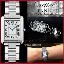 Cartier(カルティエ) アナログ腕時計 【定番人気☆代表作】Cartier カルティエ Tank Solo Small Watch