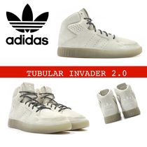 ADIDAS ORIGINALS TUBULAR INVADER 2.0 (CREAM WHITE / BLACK)