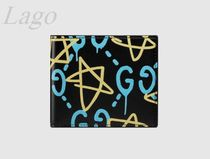GUCCI♪GucciGhost折りたたみ財布♪448463 DS1AT 8438♪