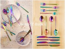 Urban Outfitters(アーバンアウトフィッターズ) キッチン小物 送込み_国内発送_UO*12-Piece Electroplated Flatware Set♪