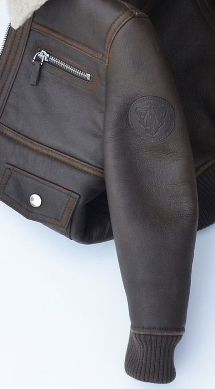GUCCI★グッチ★素敵!Brown Shearling Leather Jacket
