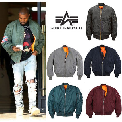 Alpha Industries Ma-1 flight jacket US model