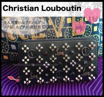 Christian Louboutin(クリスチャンルブタン) 長財布 ルブタン☆Panettone Spiked Calfskin Wallet パネトーン 長財布
