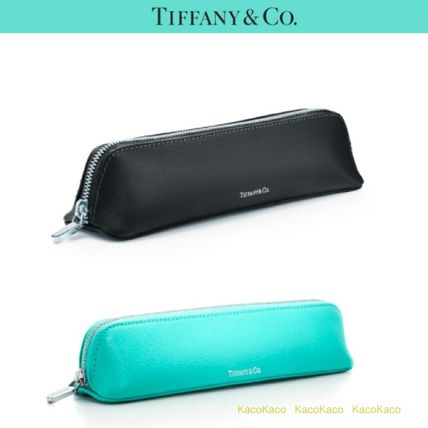 popular Tiffany leather brush Pouch / pencil case