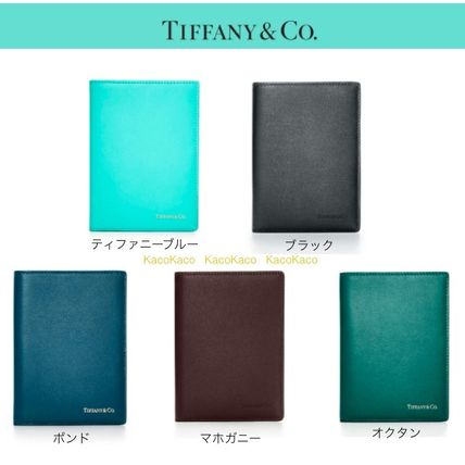 – Tiffany smooth leather Passport cases all