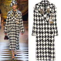 16-17AW DG754 LOOK5 EMBELLISHED CHESTERFIELD COAT