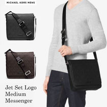日本入手困難MK☆Jet Set Logo Medium Messenger☆選べる2色