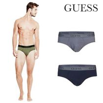 Guess(ゲス) ブリーフ 新作!【GUESS】ストレッチ JERSEY BRIEFS SET ★☆ 2枚組 / 16AW