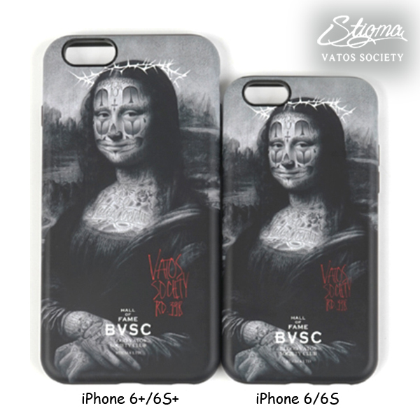 ★STIGMA正規品★ MONA LISA iPhone 6/6S、6+/6S+ ケース