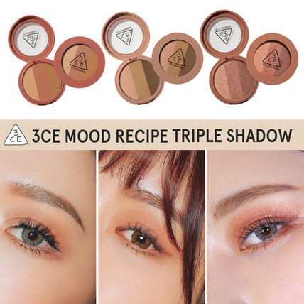 3 CONCEPT EYES アイメイク [NEW]3CE MOOD RECIPE TRIPLE SHADOW _トリプルシャドー