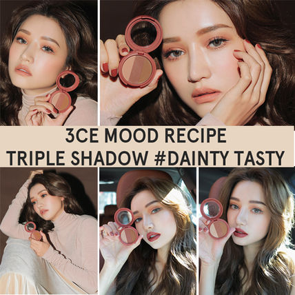 3 CONCEPT EYES アイメイク [NEW]3CE MOOD RECIPE TRIPLE SHADOW _トリプルシャドー(3)
