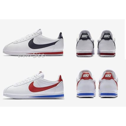 NIKE CLASSIC CORTEZ leather sneakers tricolor 2 types