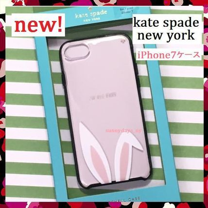 Kate spade rabbit ears clear iPhone case 7
