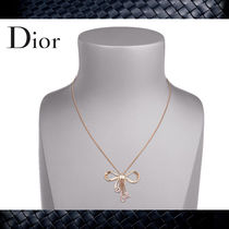 "【Christian Dior】ディオール★""DIOR BOW"" NECKLACEネックレス"