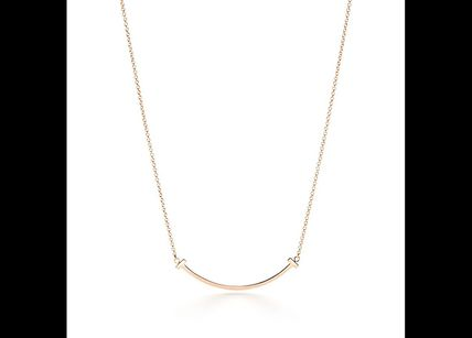 Tiffany & Co ネックレス・ペンダント 【Tiffany & Co】T Smile Pendant(gold or rose)(3)
