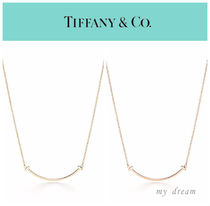日本未入荷♪【Tiffany & Co】T Smile Pendant(gold or rose)