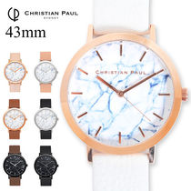 ◆CHRISTIAN PAUL マーブル MR 43mm 大理石 Marble Collection