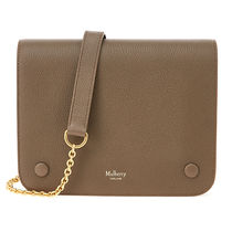 Mulberry 16AW Small Clifton チェーンショルダーバック_CLAY