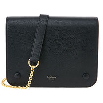 Mulberry 16AW Small Clifton チェーンショルダーバック_BLACK