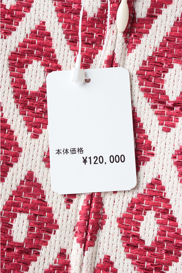 Dsquared2 刺繍柄コットンビスチェ[40]OUTLET PTX8535