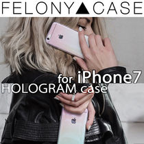 新作 FELONY CASE HOLOGLAM iPhone7