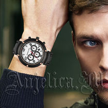 【大人気】MICHAEL KORS Caine Chronograph Men's Watch MK8489