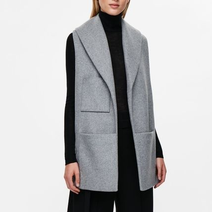 """""""COS""""SCARF WITH POCKETS GRAY"""