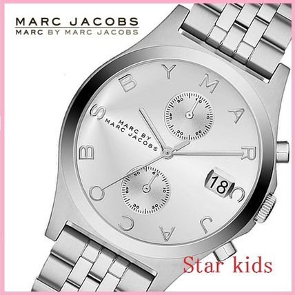 ★Marc by Marc Jacobs★MBM3378 Fergus クロノウォッチ Silver