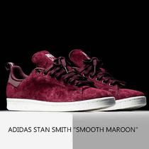 "ADIDAS STAN SMITH ""SMOOTH MAROON"" マルーン スエード レア"