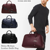 日本入手困難MK☆Dylan Medium Leather Duffel Bag☆選べる3色