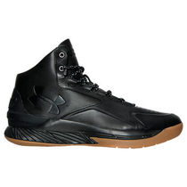 Men's Under Armour Curry 1 Lux Mid Leather Basketball Shoes