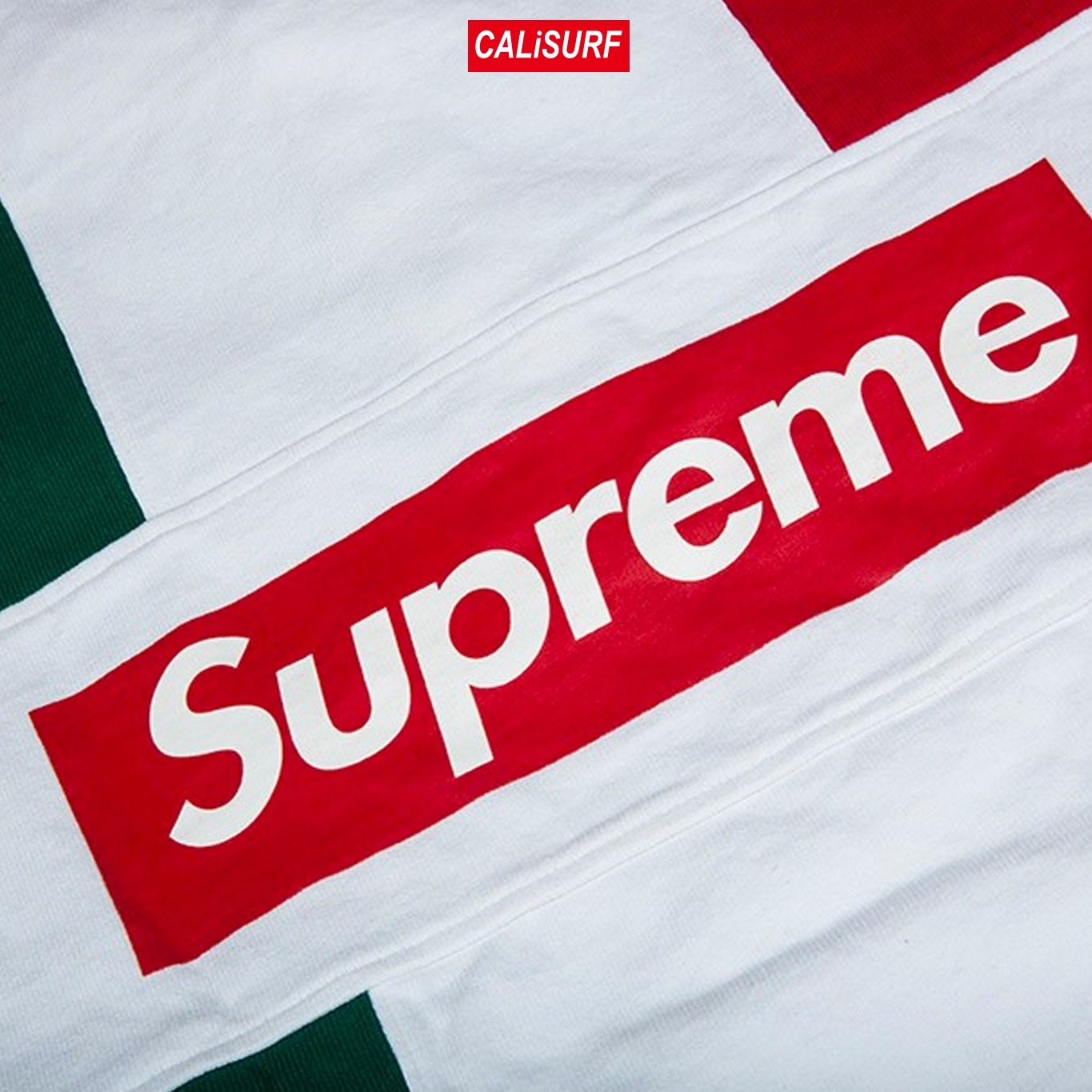 XLサイズ Supreme(シュプリーム) SHIRT SPILT RUGBY/RED