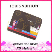 Louis Vuitton(ルイヴィトン) コインケース ★ルイヴィトン★モノグラム×カードケース×プリント★新作★
