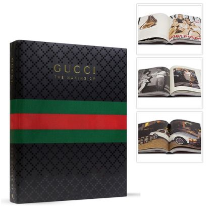 Book a stylish interiors and art in THE MAKING OF Gucci