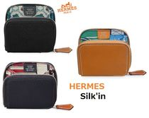 HERMES(エルメス) Silk In コンパクトウォレット