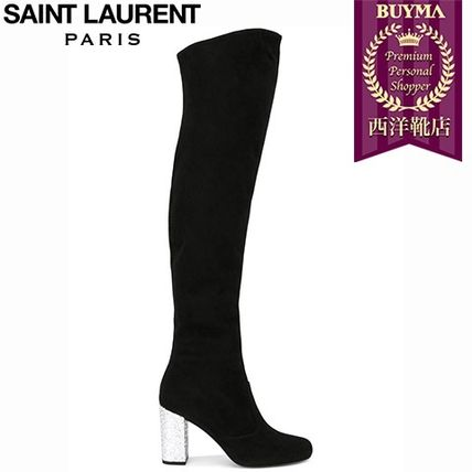 16/17秋冬入荷!┃SAINT LAURENT┃BABIES 90 OVER-THE-KNEE BOOT