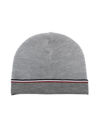THOM BROWNE knit Cap Black