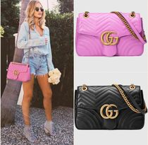 ☆GUCCI☆GG Marmont matelasse shoulder bag *国内発送