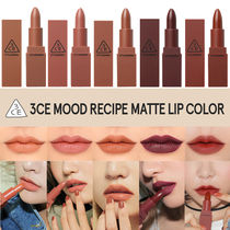 [NEW]3CE MOOD RECIPE MATTE LIP _マットリップ (5色)