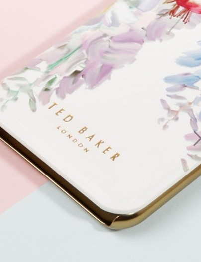 【Ted Baker】 i phone7 手帳型ケース☆とっても便利な鏡付き☆