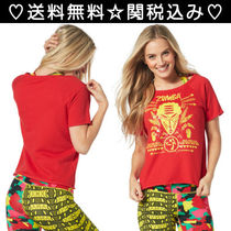ZUMBA(ズンバ) レディース・トップス 2016年10月新作【送料無料】ズンバ Kingston Vibes Tee Red
