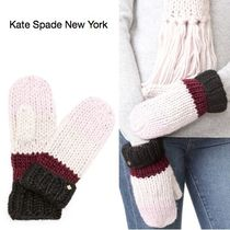 kate spade new york(ケイトスペード) 手袋 新作/送料込★kate spadeケイトスペード★Chunky Knit 手袋