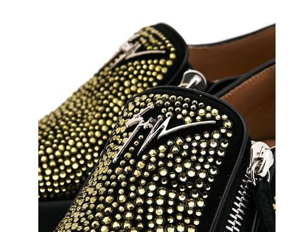GIUSEPPE ZANOTTI スニーカー 【関税負担】 GIUSEPPE ZANOTTI ZIP-UP SLIP-ON(6)