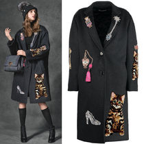 16-17AW DG787 EMBELLISHED CHESTERFIELD COAT