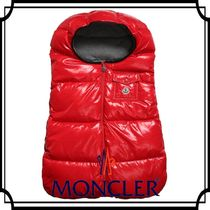 MONCLER(モンクレール) ベビーその他 16-17AWモンクレール☆ベビー ダウン おくるみ 77cm レッド