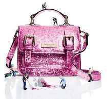 Kate Spade New York scout girls' glitteredクロスボディバッグ